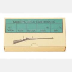 Collector Cartridge Boxes - Sharps Ammo Box