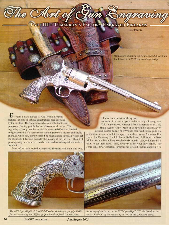 Shoot Magazine-Engraving