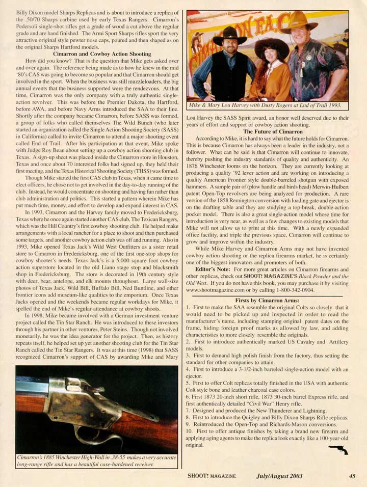 Shoot Magazine-Replica